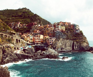 ocean, travel, and italy image