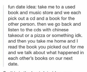 date, books, and tumblr image