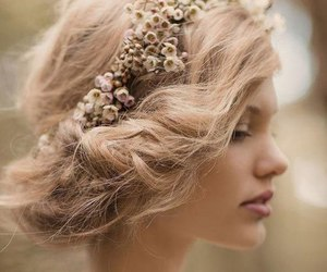 day, hairstyle, and wedding image