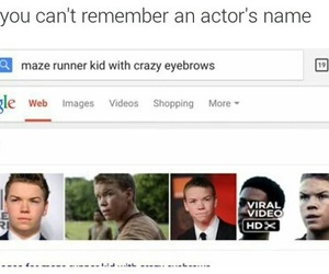 funny, google, and dylan o'brien image