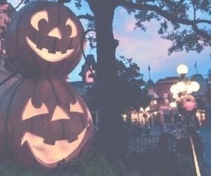 Halloween, pumpkin, and night image