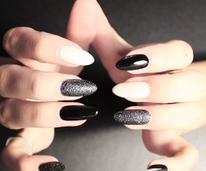 black, nail art, and texture image