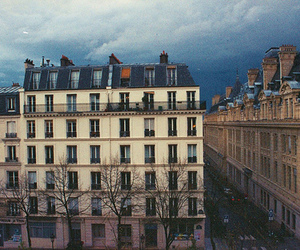35 mm, cloudy, and paris image