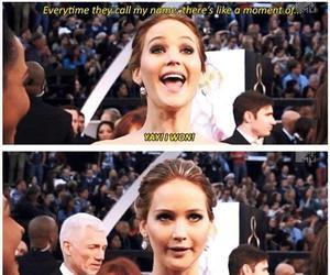 Jennifer Lawrence, funny, and lol image