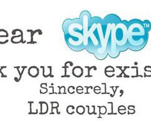 couple, skype, and ldr image