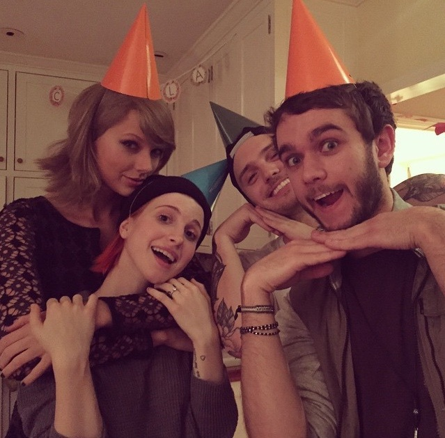 Lq Taylor Swift Hayley Williams Zedd And Unknown