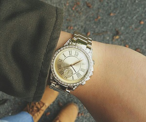 autumn, watch, and fall image