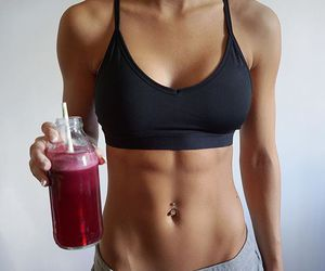 fitness, motivation, and abs image