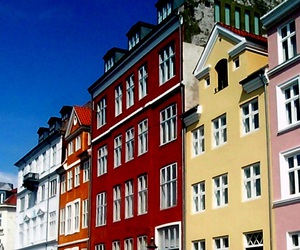 beauty, color, and denmark image