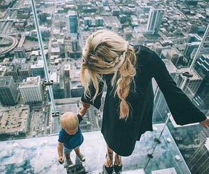 family, baby, and city image