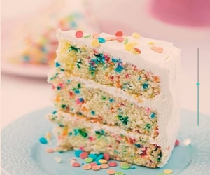 cake, sweet, and colors image