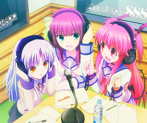 angel beats and anime image