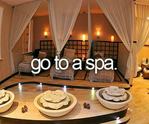 spa and bucket list image