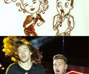 funny, liam payne, and Harry Styles image