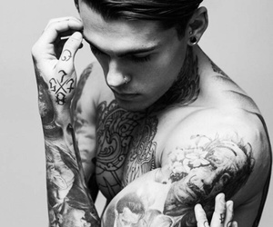 tattoo, boy, and stephen james image