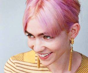 grimes, pink, and style image