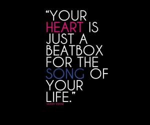 heart, quotes, and life image