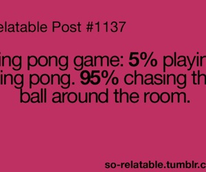 funny and ping pong image