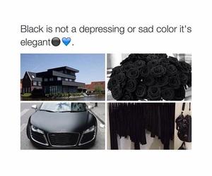 black, elegant, and car image