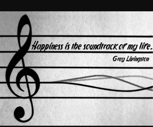 happiness, life, and song image