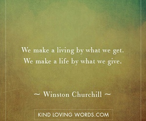 giving, live, and living image