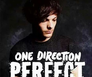 louis, perfect, and one direction image