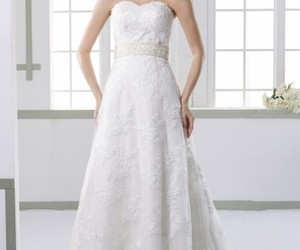 dress, fashion, and weddingdress image