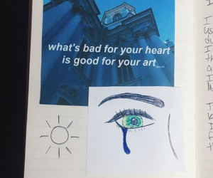 art, art journal, and arts image