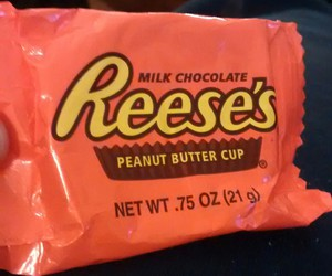 peanut butter, peanut butter cups, and reeses image