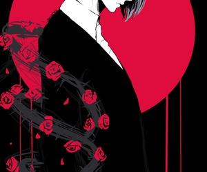 tokyo ghoul, tsukiyama shuu, and anime image