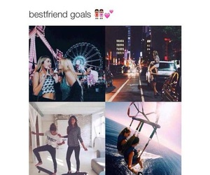 best friends, goals, and friends image