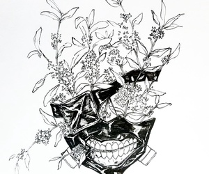 tokyo ghoul, manga, and mask image