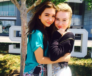 rowan blanchard, sabrina carpenter, and girl meets world image