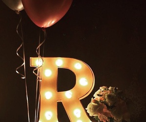 Letter and r image
