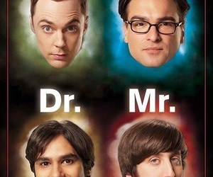 leonard, raj, and the big bang theory image