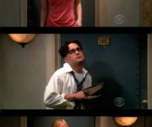 penny, the big bang theory, and leonard image