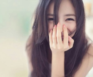 girl, smile, and asian image