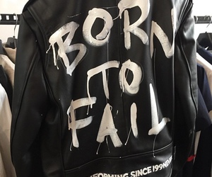 fail, jacket, and quote image