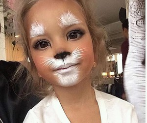 cute, kids, and cat image