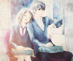 strobe edge, manga, and anime image
