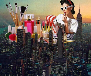 art, city, and vintage image