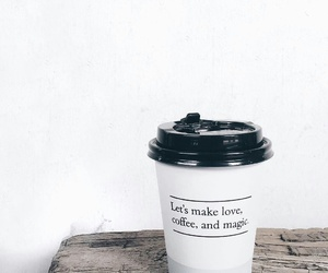 coffee, quotes, and love image