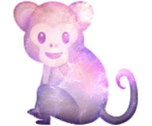 galaxy, monkey, and tumblr image