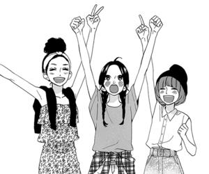 manga, friends, and hirunaka no ryuusei image