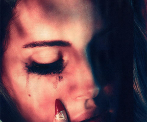 lana del rey, cry, and sad image