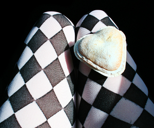 cake, checkered, and checkers image
