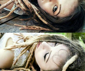 dreads, girl, and jah image