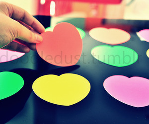 hearts, love, and cute image