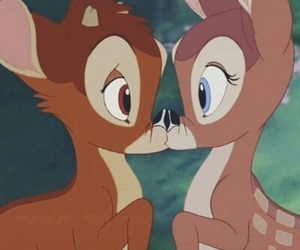 bambi, love, and disney image