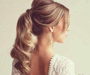 blonde, style, and hair image